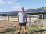 Woodville farmer Matthew Jackson says his solar powered milk shed has cut his power bill by over 50%.