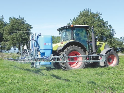 Linkage-mounted sprayers easier to use, safer
