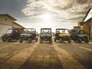 Can Am's new Defender series is essentially four models, but these can be customised to individual taste using the manufacturers' big accessory range.