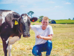 Halter founder Craig Piggott claims his company's technology will allow for more precise pasture allocation per cow.