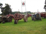 Vintage tractors will be on display at the event.
