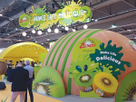 Zespri's stand at Asia Fruit Logistica. Photo: Horticulture NZ.