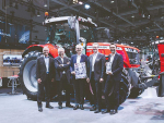 Gong for MF's mid-range tractor