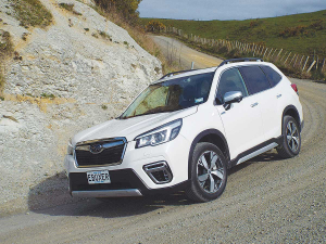 E-boxer, the revamped version of Subaru Forester.