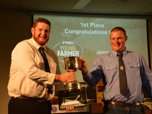 Taranaki-Manawatu FMG Young Farmer of the Year named