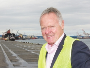 Port of Tauranga chief executive Mark Cairns.