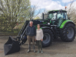 One tractor keeps cropping farm on track
