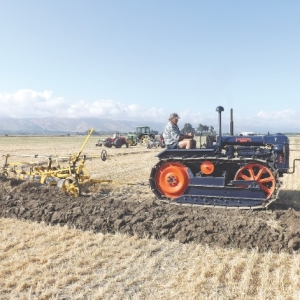 Ploughing enthusiasts enjoy day out