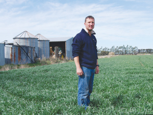 Leeston arable farmer David Birkett.
