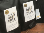 Pāmu's deer milk is a finalist in two categories in this year's New Zealand Food Awards.
