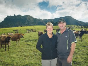 Whangarei Heads-based farmers Murray and Helen Jagger.