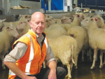 John Ryrie, sheep dairy manager at Spring Sheep Milk.