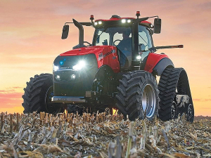 The latest Case Magnum alongside its New Holland sibling made brief appearances at the World Ag Expo and The National Farm Machinery Shows in the US recently.