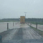 Flooding closes Southland roads