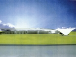 An image of Delegat's new winery being built in Hawke's Bay.