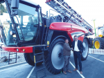 Sprayer the first of its kind