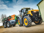 The 8330 is the fastest, most powerful and most versatile tractor released by JCB.