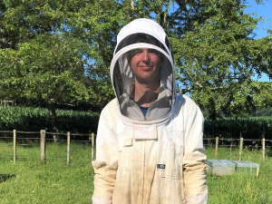 2020 Apiculture NZ Ron Mossop Youth Scholarship winner Angus Brenton-Rule.