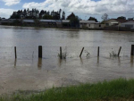 Flooding in Edgecumbe. Photo: New Zealand Defence Force.