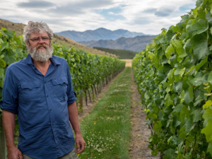 "Grant Taylor, who says; ""When the Waitaki fruit comes into the winery, you have to wipe your brain and pretend that the harvest is starting again, it bares barely any resemblance to any factors that we have employed to process the Central grapes."""