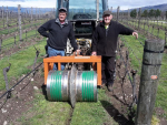 Making organic vineyards sustainable – the novel Amisfield approach