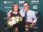 First-time entrants and 2020 Central Plateau Share Farmer of the Year, David Noble and Katy Jones.