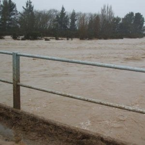 Flood risk for Waikato region
