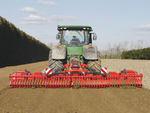 The new Kuhn EL402 R.
