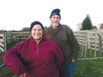 Len and Diane Pickett on their Stratford property