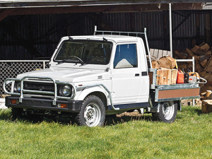 Suzuki's Farm Worker offers a serious alternative to lighter duty side-by-sides.
