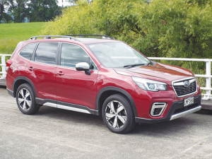 2019 Subaru Forester picked up Car of The Year award from the NZ Guild of Motoring Writers.