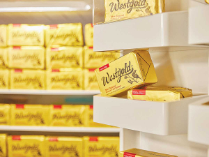 Westland-produced butter is already sold in more than 20 countries around the world.
