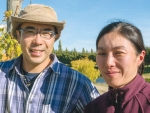 Yoshi and Kyoko Sato, drawn to New Zealand by Central Otago Pinot Noir.