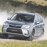 Forester works well in the bush