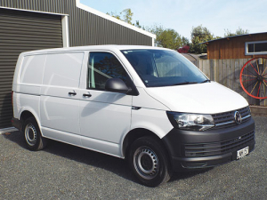 The VW Transporter Runner is a well equipped ride.