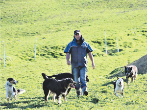Dannevirke farmer Charlie Riddell says one of the major lessons that he has taken from the group is to look at diversifying the skills he's learned in his farming business.