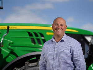 New John Deere Australia/New Zealand managing director Luke Chandler will prioritise leading the way in technology and investing in strong relationships to continue to deliver value.