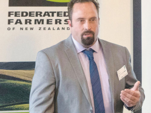 Federated Farmers Sharemilkers Chairperson Richard McIntyre.
