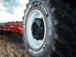 Farmers can expect an increase in yield of 4% using the company's Ultraflex tyre technology.