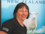 Tasmanian sheep milking farmer Dianne Rae is blown away at how quickly the industry has developed in NZ.
