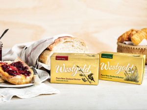 Westgold Butter from the West Coast is now the number three seller in the North Island.
