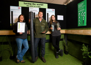 Plastic fence post scoops innovation award