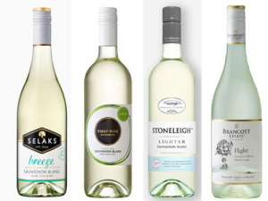 Six percent of all Sauvignon Blanc sold in New Zealand is lower in alcohol. These four are the top sellers.