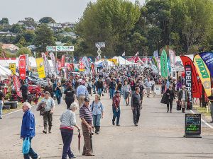 A record number of exhbitors are booked for this year's field days.