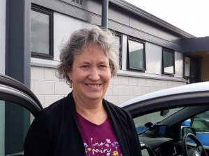 The programme coordinator of the Mid Canterbury Rural Driver Licensing Scheme Wendy Hewitt.