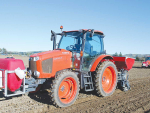 Murphy NZ Ltd uses a fleet of five Kubota tractors to do most of the work required to grow the garlic and shallots they produce.