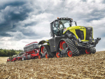 Claas Xerion gets on track
