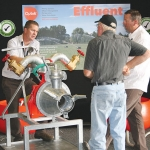 The annual Effluent Expo attracted over 50 exhibitors.