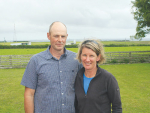 Couple happy to get back home to farm