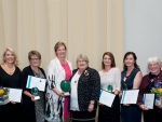 (From left) Chanelle Purser, Marie Taylor, Joanne Taylor, Wendy McGowan, Kate Belcher, Bronwyn Muir and Bridget Canning.